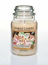 Yankee Candle Cream Colored Ponies 22oz Jar Collectible