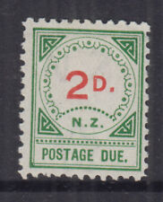 New Zealand 1899 2d POSTAGE DUE -Small NZ/Small D---SG D15 Cat £55 LHM