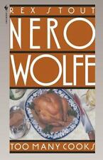 Nero Wolfe: Too Many Cooks 5 by Rex Stout (1995, Paperback)