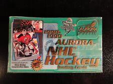 1998-1999 Pacific Aurora Hockey Hobby Box - Factory Sealed - 36 Packs