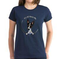 CafePress Rat Terrier IAAM T Shirt Women's Cotton T-Shirt (821589106)