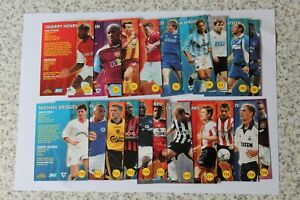 Topps Premier Gold 2001 FULL SET OF CARDS INC Star Players & Superstars