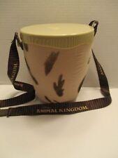 Disney Parks Animal Kingdom Drum Popcorn Bucket with Lanyard New