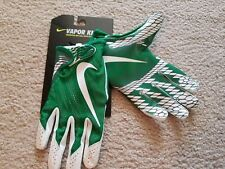 Men Large Nike Vapor Knit Football Gloves Green White Gf0571 302 Receivers L