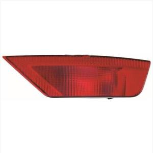 Rear Right Side Bumper Reflector Fog Tail Light O/S White For Ford Focus MK2 UK