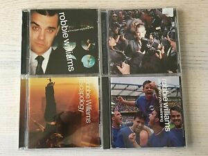 Robbie Williams - 4 CD BUNDLE - Escapology, I've Been Expecting You...etc