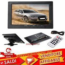 """TV MONITOR 8""""  LCD COLORE SCHERMO HD HDMI VGA BNC BNC AUDIO PER PC CCTV MP5 TFT"""