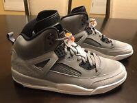 New Nike Jordan Spizike Cool Grey Basketball Sneaker Shoes Size US 11.5