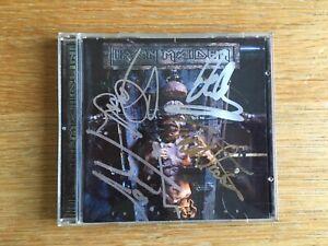 Iron Maiden X Factor signed autographed album cd