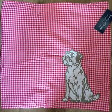 GINGHAM ROSE Foxy rose cushion Cover by Kirstie Allsopp Red gingham featuring...