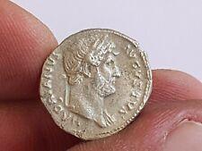 EXTREMELY RARE MINT ANCIENT ROMAN SILVER DENARIUS COIN TRAJAN.2,7 GR.17 MM