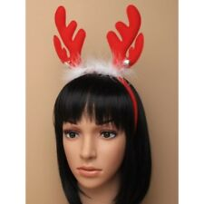 CHRISTMAS HEADBANDS BOPPERS SNOWBALL HAIR CLIPS REINDEER ANTLERS RUDOLPH XMAS UK