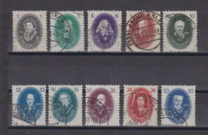 DDR 1950 gestempelt MiNr. 261-270 Deutsche Akademie der Wissenschaften  (1)
