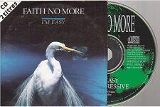 FAITH NO MORE i'm easy CD SINGLE french card sleeve france