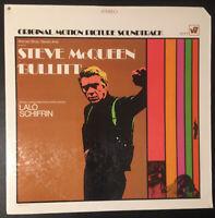 BULLITT - Lalo Schifrin - Steve McQueen VINYL LP OST First Pressing WS1777 EX/EX