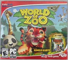 World of Zoo With Jungle Kartz (PC, 2014) (5005-BR24)