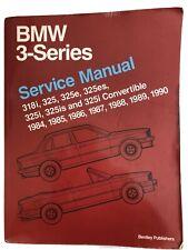 BMW 3 Series E30 Service Manual 1984 - 1990 Bentley - Very Good Condition!