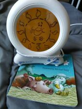 Gro Company Sleep Trainer Baby Alarm Clock Adjustable Night Light & Book