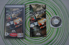 Need for speed most wanted 5-1-0 platinum Psp pal