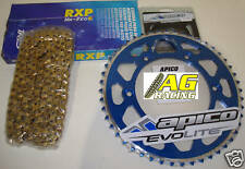 Yamaha YZ 250 99-08 Iris 520 RXP Chain & Sprocket Set 14T 49T Blue