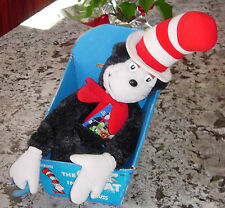 DR. SEUSS  CAT IN THE HAT  PLUSH  COLECO  BOXED TAGGED  1983