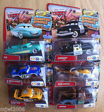 Disney PIXAR Cars RADIATOR SPRINGS Classic RON HOVER OCTANE GAIN & LIL' TORQUEY
