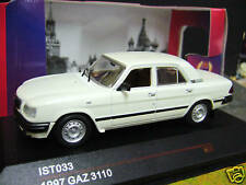 Volga volga gaz 3110 Limousine blanc white russie rda 1997 IXO est 1:43