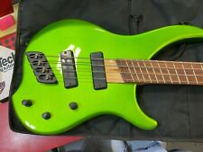 Dingwall Afterburner Bertolini  Bass Green Used with Case