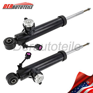 2PCS Rear Shock Absorber for with electric For Cadillac SRX SAAB 9-4X Opel new