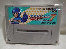 Rockman Mega Man 7 (Nintendo Super Famicom) Japanese Cart, tested