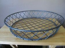 """New listing Large 16"""" Diameter Counter Top Metal Wire Bread/Fruit/Display Basket~New!"""