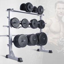 Hantelablage Hantelständer Scheibenständer für Langhanteln und Gewichtsscheiben