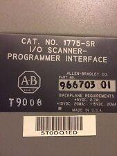 I/O Scanner-Programmeur Interface 1775-SR Allen Bradley 966703-01 used Unit