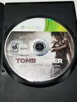 Tomb Raider (Microsoft Xbox 360, 2013) Disc Only