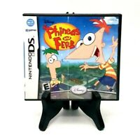 Disney Phineas And Ferb Nintendo Ds Complete Very Good 2008 Tested