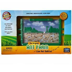 Uncle Milton STEM The Original Ant Farm Live Ant Habitat Age 6+ Brand NEW in Box