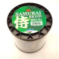 Daiwa Samurai Braided Line - Dark Green 100lb Test, 1500 yards - DSB-B100LBG