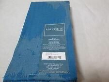 NEW Marquis by Waterford ELLIS Napkin Set of 4 - Blue 20x20 NIP