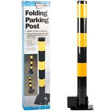 Plegable Estacionamiento Seguridad sólida post ENTRADA BOLARDO Lock & 3 X llaves