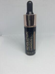 Revolution beauty London Liquid Highlighter - Shade Luminous Gold Full Size