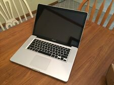 "MacBook Pro 15"" A1286 Early 2011 High-Res Glossy Intel Core i7 8GB RAM 500GB SSD"