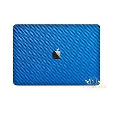SopiGuard Laguna Blue Carbon Fiber Full Body Skin Apple Macbook Pro 13 Retina