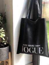 Vogue Inspired Tote Bag Vogue Tote Bag Vogue Shopper Designer Inspired Tote Bag