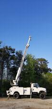 2006 IHC 7400 4x4 Crane 47' Bucket truck boom Digger Derrick Auger