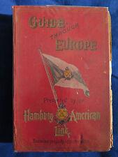 Guide through Europe - Hamburg-American Line Souvenir 1909