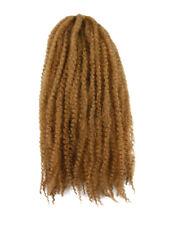 CYBERLOXSHOP MARLEY BRAID AFRO KINKY HAIR #27 HONEY BLONDE DREADS SYNTHETIC