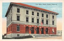 c.1915 Post Office Corpus Christi TX post card