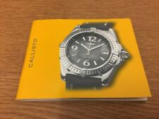 Breitling Callisto Ladies Watch Booklet - Used