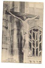 bar-le-duc  le christ bois sculpté