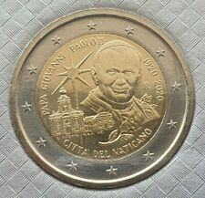 2 Euro Gedenkmünze Vatikan 2020 - 100 Jahr der Geburt von Papst Johannes Paul II